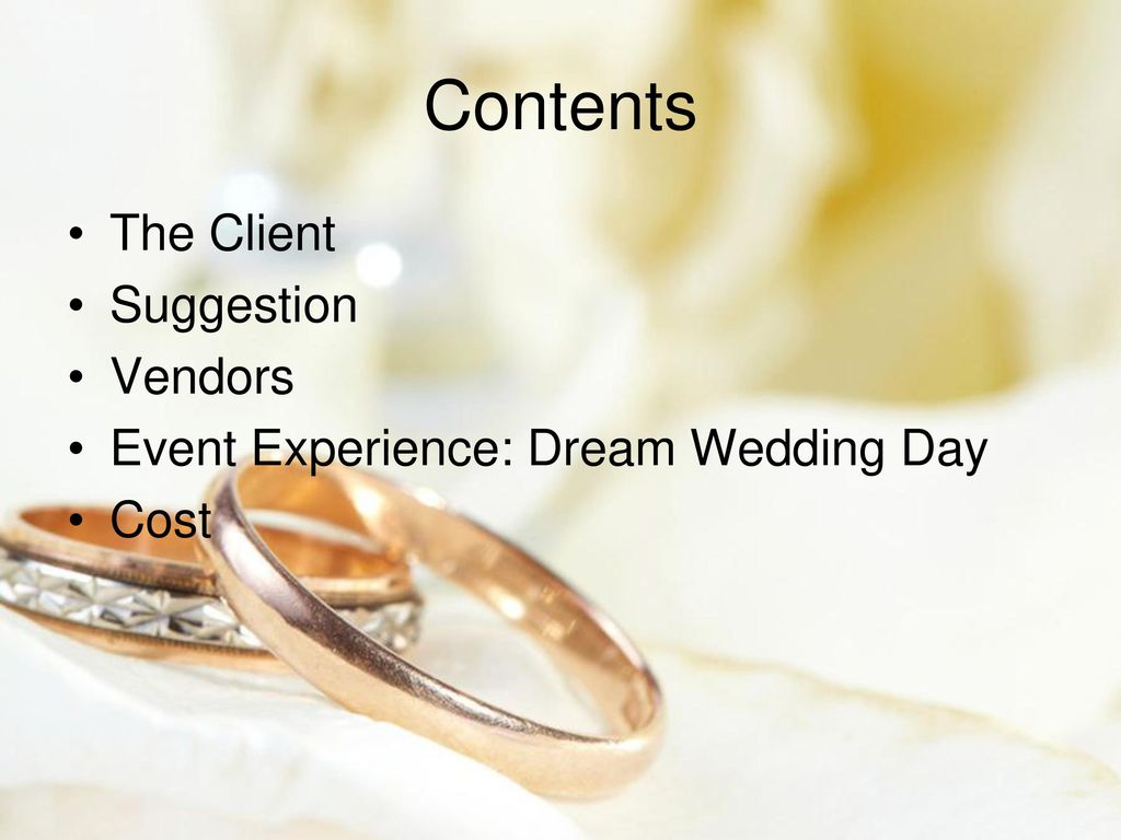Project 1: Plan a Wedding-Hawaii - ppt download