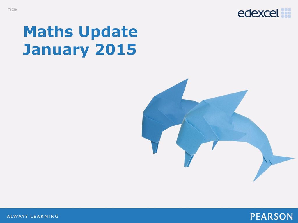 Maths Update January ppt download