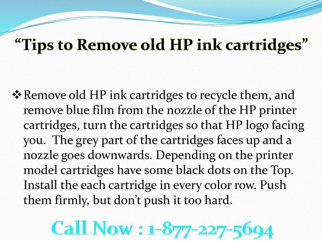 """Call Now!! """"HP Printer Cartridges"""" >>How to Setup, - ppt download"""