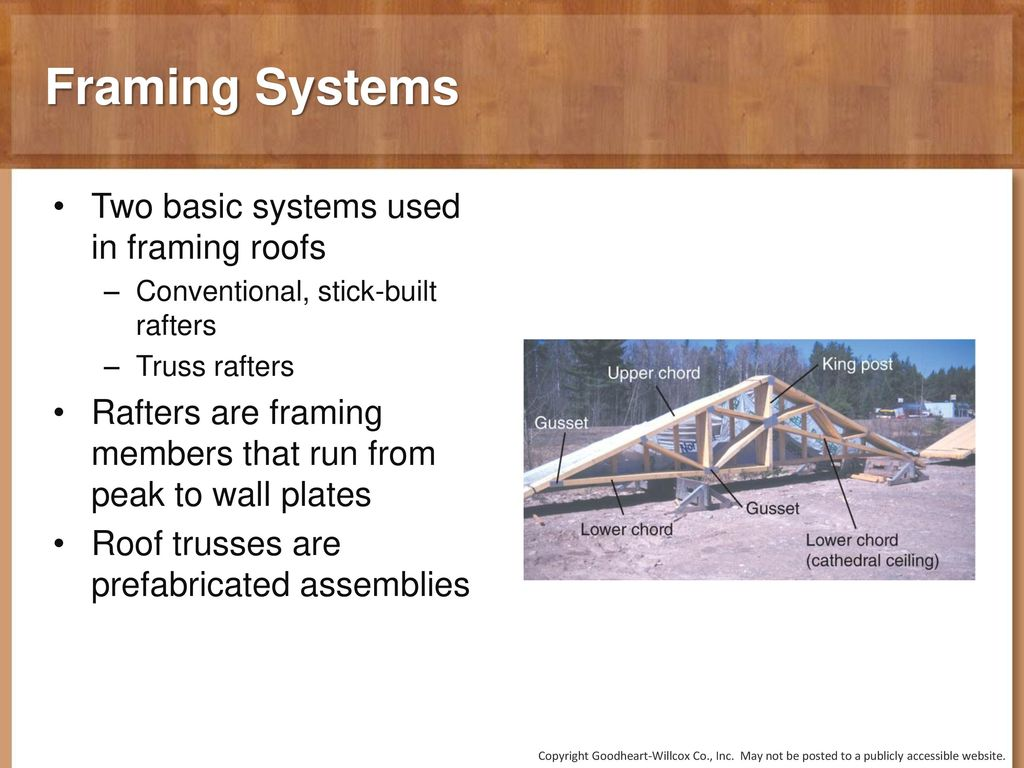 12 Chapter Roof Framing. 12 Chapter Roof Framing. - ppt download