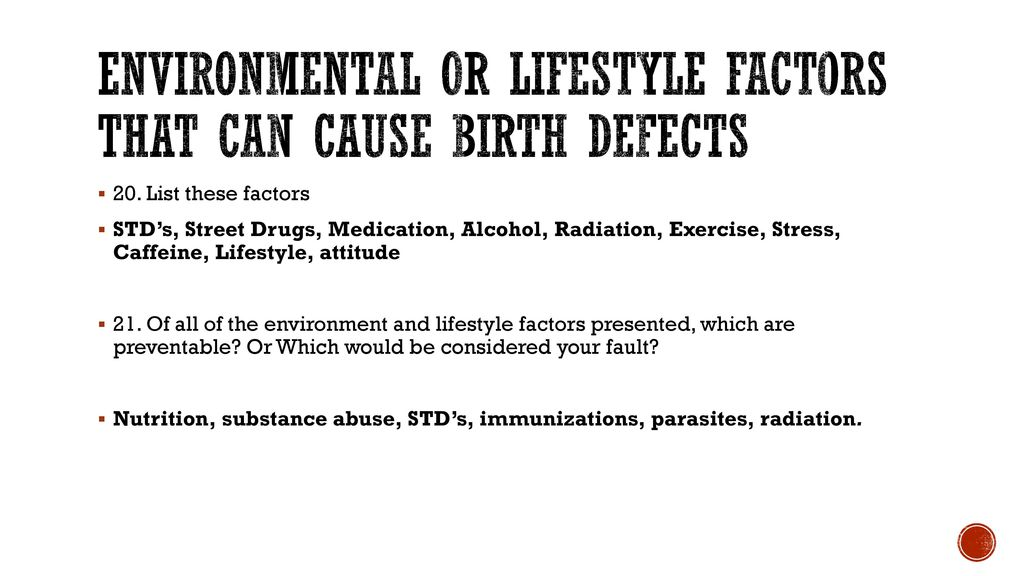 can stress cause birth defects
