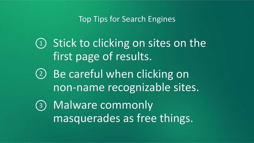 Top Tips for Search Engines