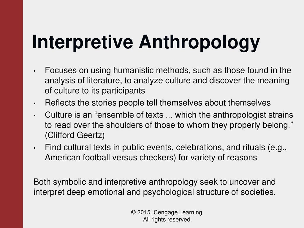 two views on culture and anthropology Taking sides: clashing views in anthropology  results in a revision cycle ranging from every two to four years  is a product of culture and.