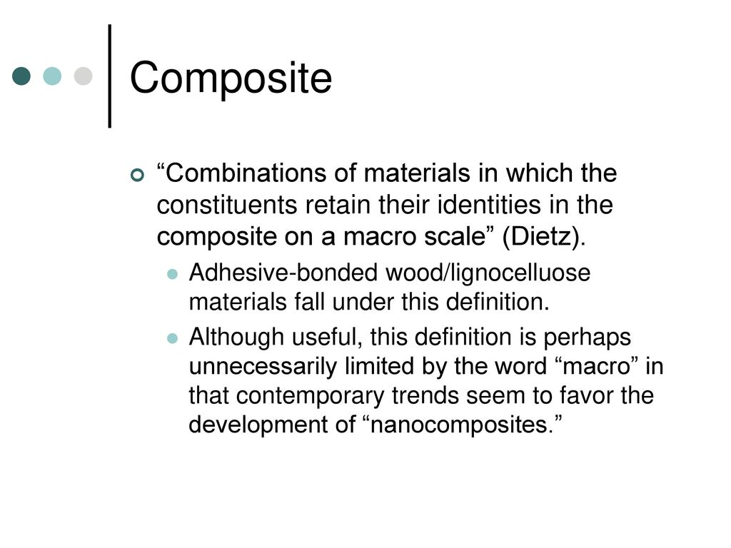 for. 485: lignocellulosic composite materials - ppt download
