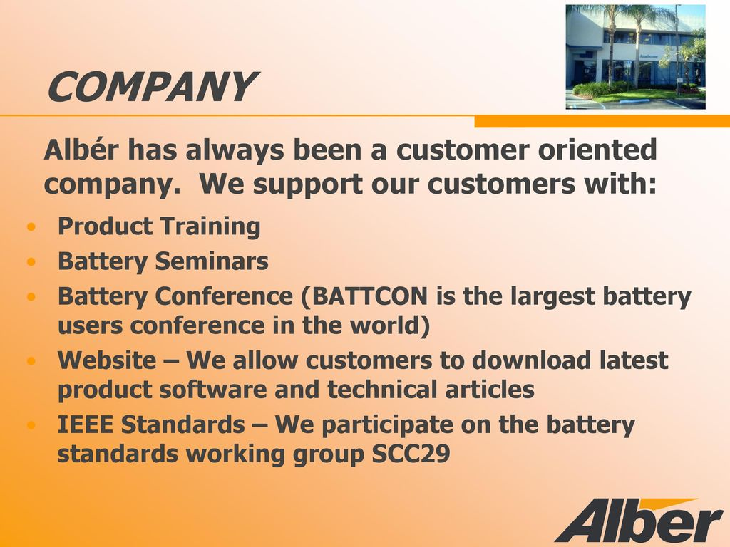 Technology that lets you Trust your batteries! - ppt download