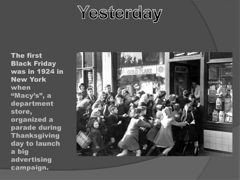 What Is It Black Friday Is A Day Considered As The Beginning Of The Christmas Shopping Season In The United States It Is A Day Of Great Discounts Ppt Download