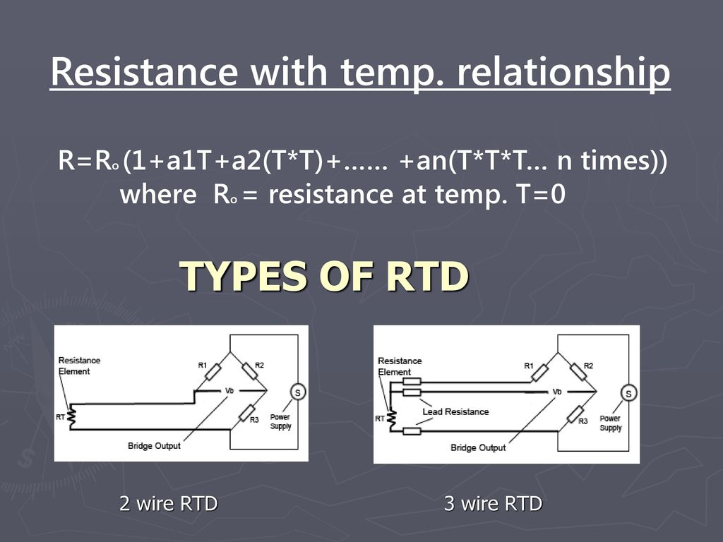 Perfect Types Of 2 Wire Rtd Illustration - Electrical Circuit ...