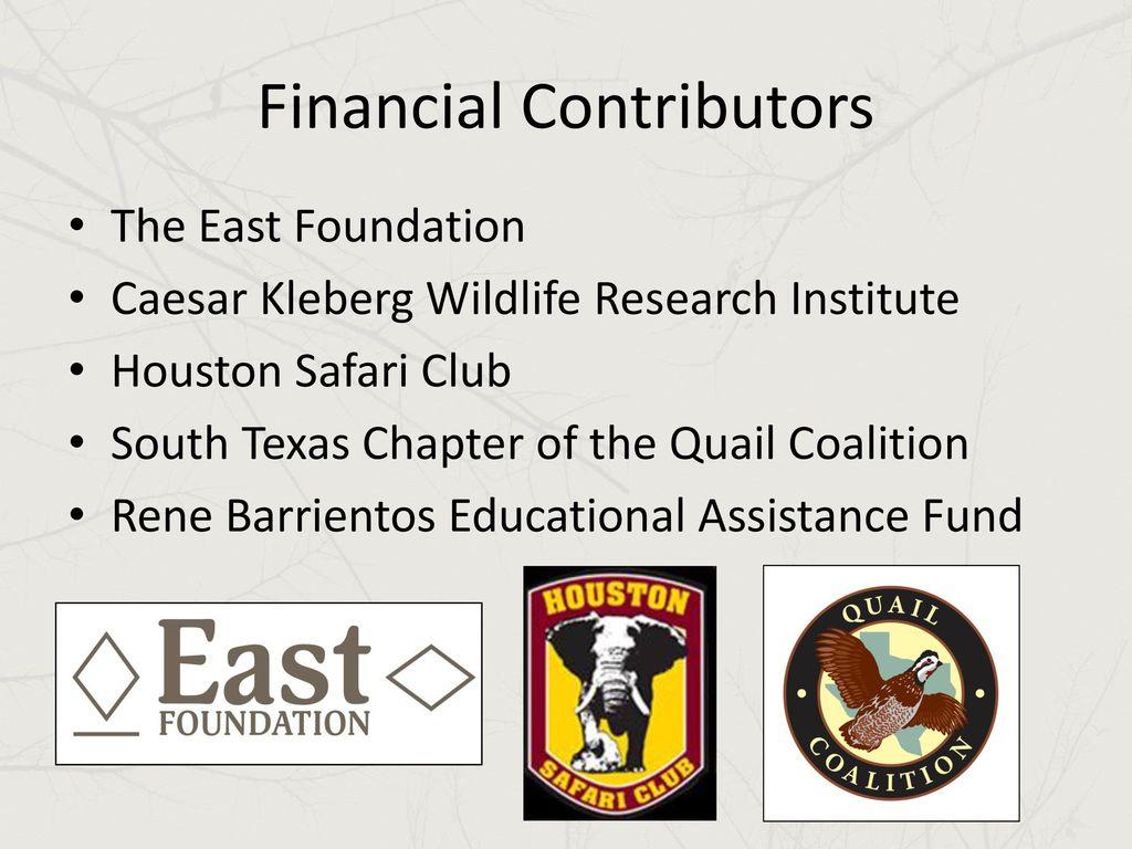 Kory Gann Texas Parks & Wildlife Department - ppt download