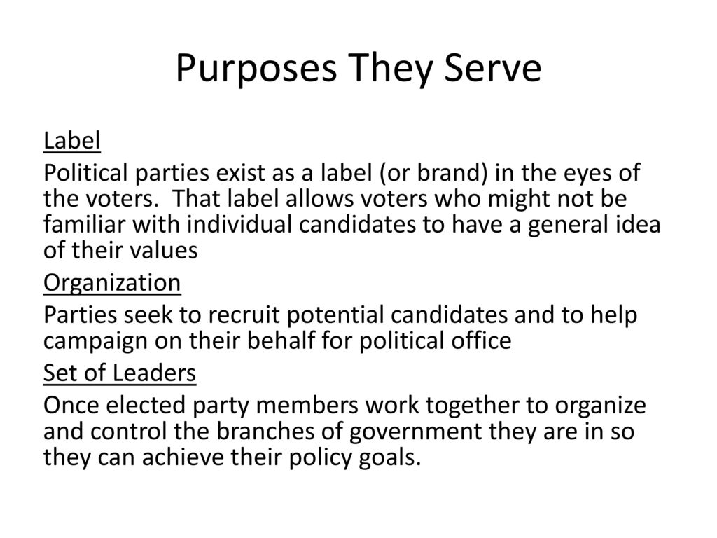 What political parties exist, how are they created, and for what purpose, help, please, very urgently need 73