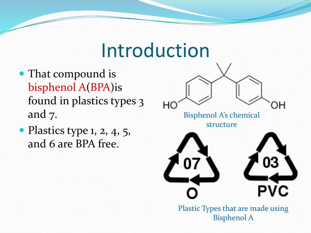 Bisphenol A in Plastics - ppt download