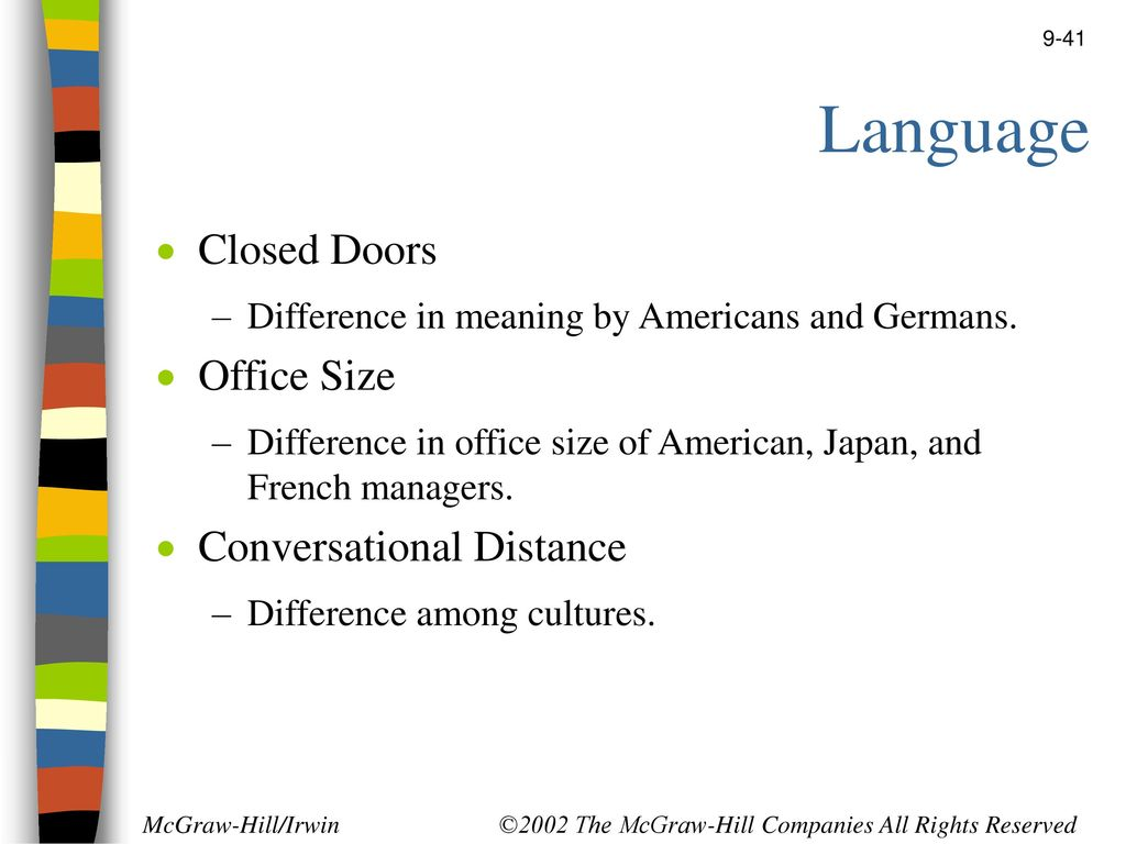Cultural differences between Japanese and American firms