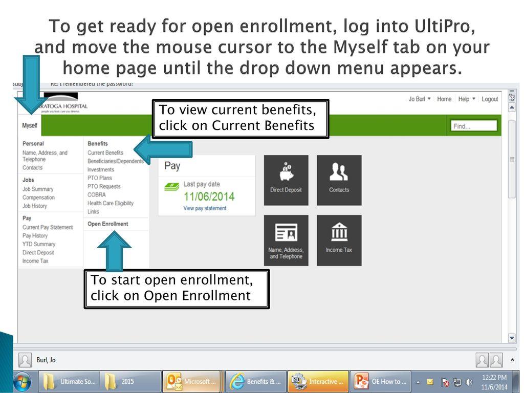 Saratoga Hospital 2017 Open Enrollment - ppt download