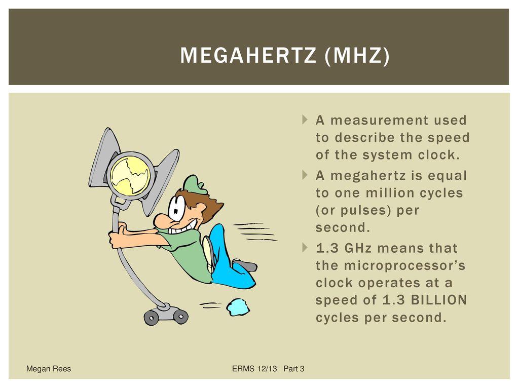 7 Megahertz MHz A
