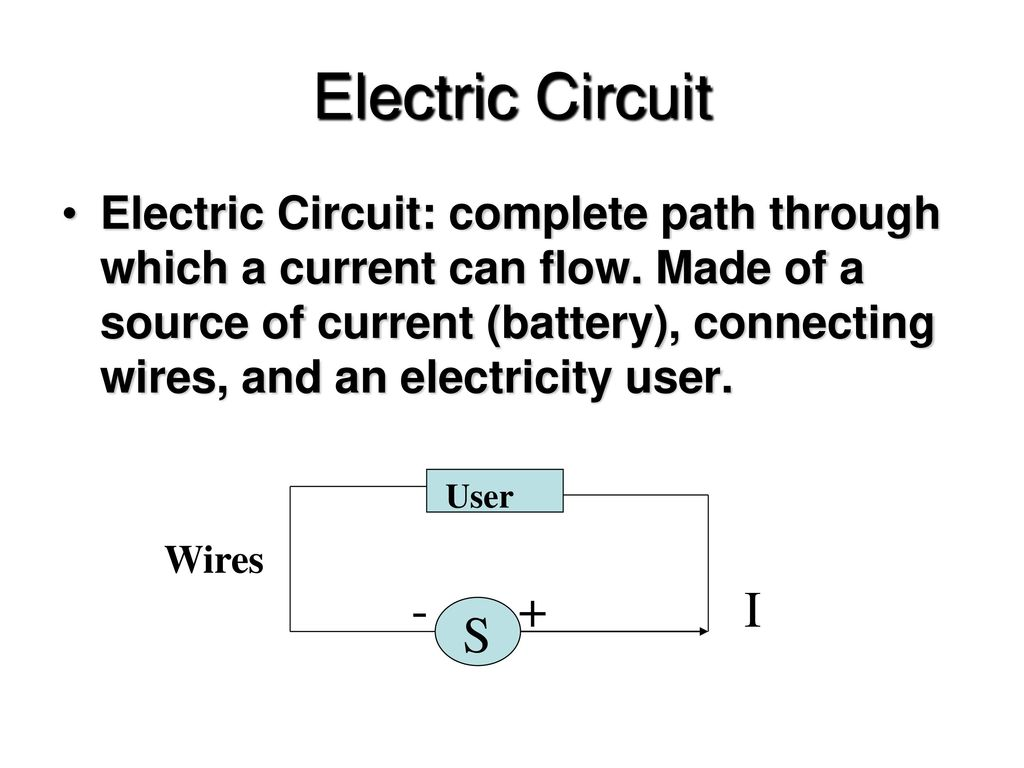 Electric Current Chapter 23 Ppt Download Circuit Is Path That Allows Electricity To Flow Through
