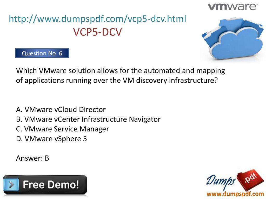 Guide pdf study vcp5
