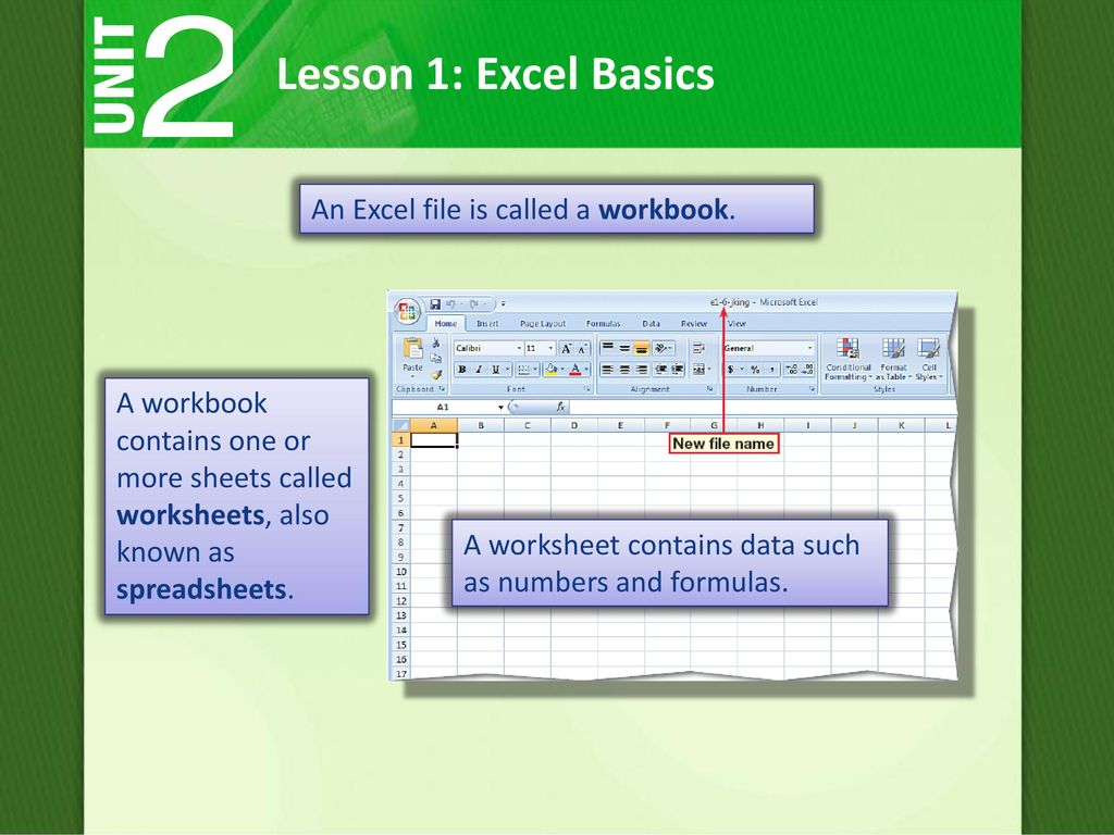How can Microsoft Excel 2007 help you to be more productive? - ppt ...