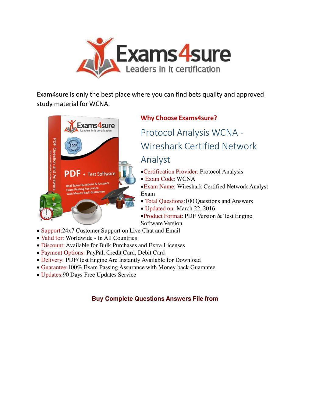 100 Exam Passing Guarantee Money Back Assurance Ppt Download