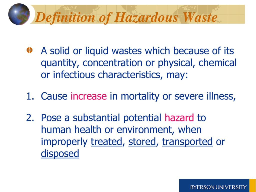 hazardous waste management:overview waste management - ppt download
