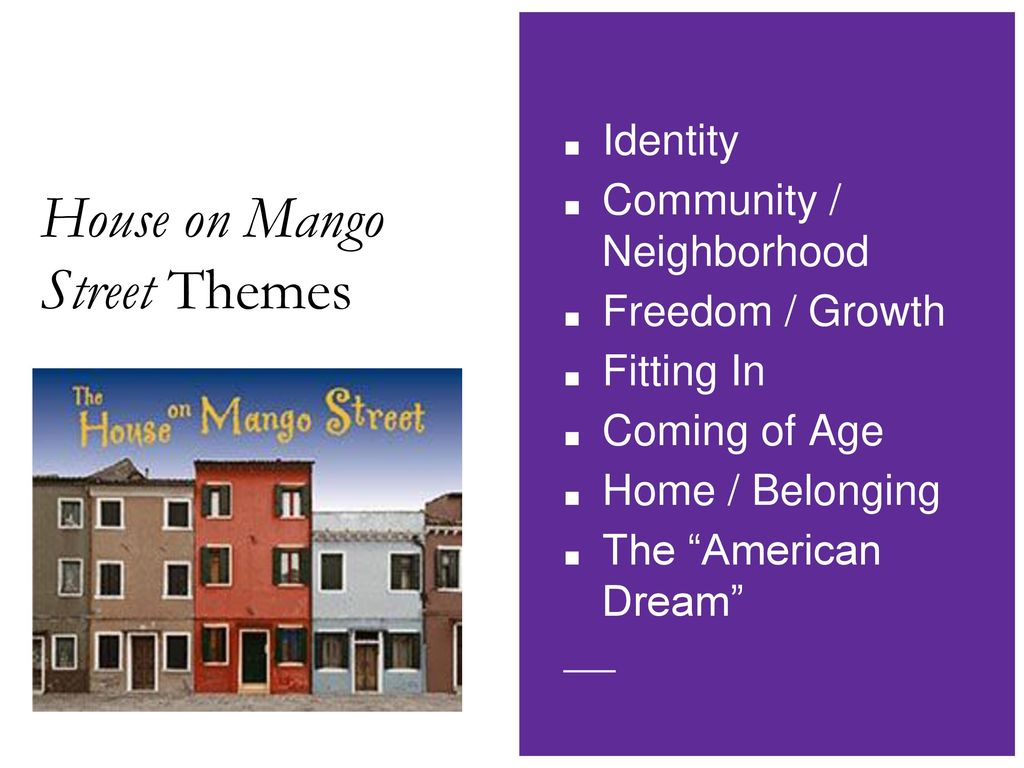 allusions in the house on mango street