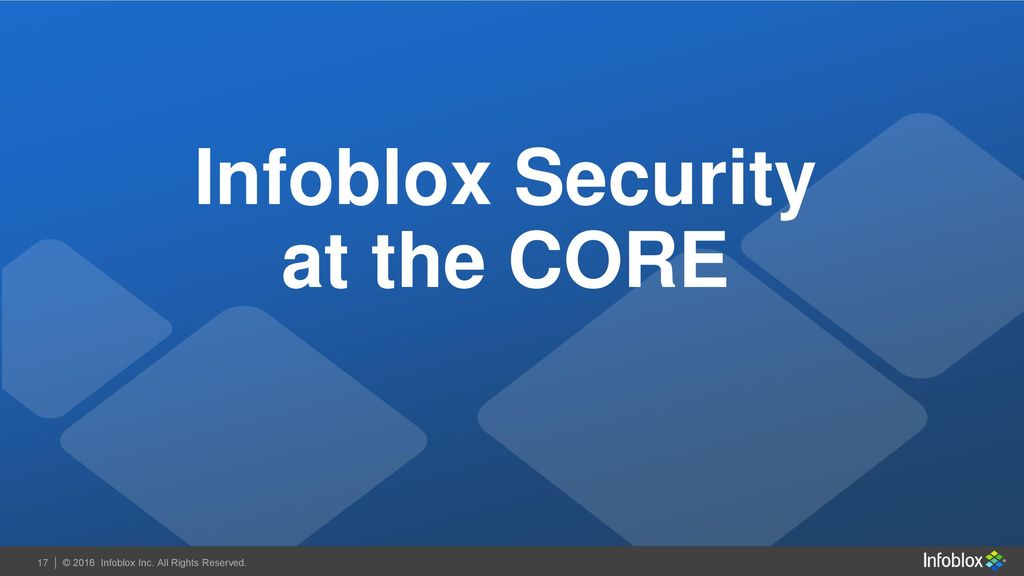 Effective Security at the Core - ppt download