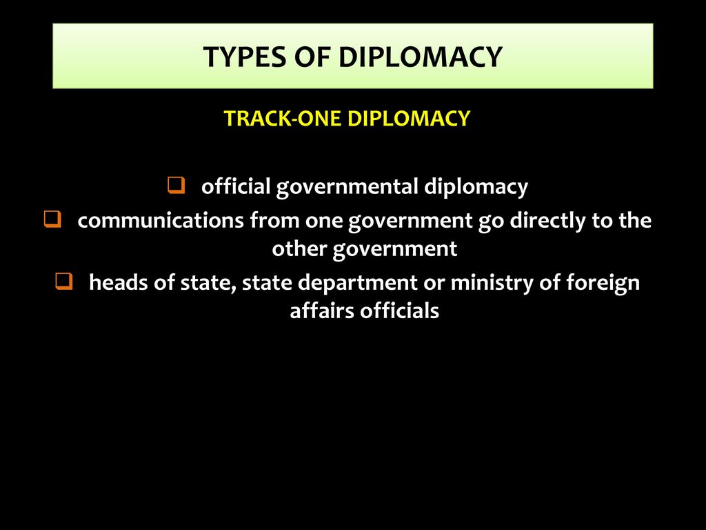 TOPIC 6: INSTRUMENTS OF FOREIGN POLICY - ppt download