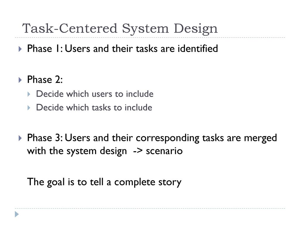 Task Centered Walkthrough Ppt Download