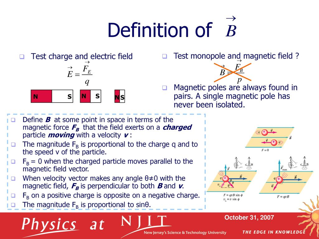 electric field & magnetic field - ppt download