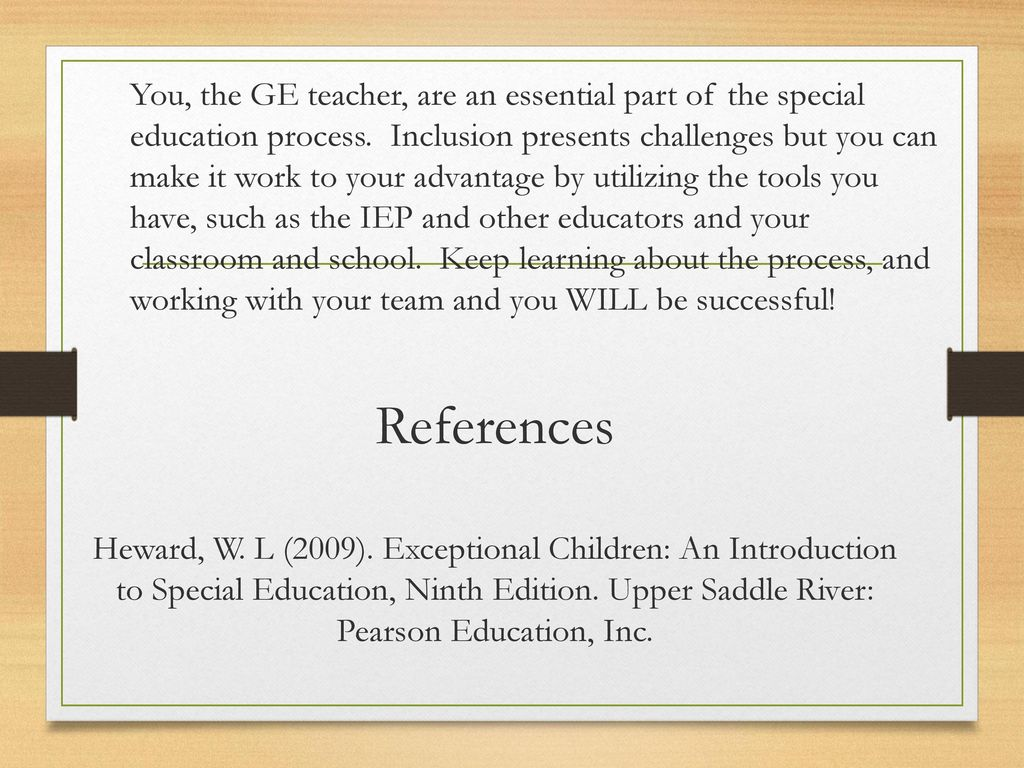 rewards of being a special education teacher