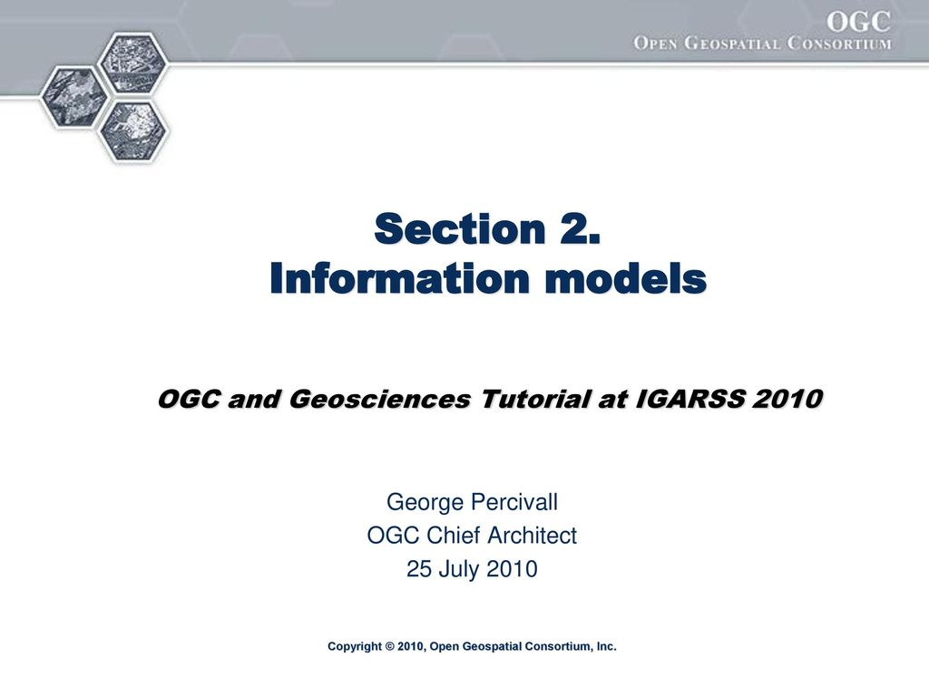 George Percivall OGC Chief Architect 25 July ppt download
