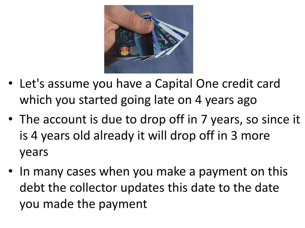 capital one credit card debt collection