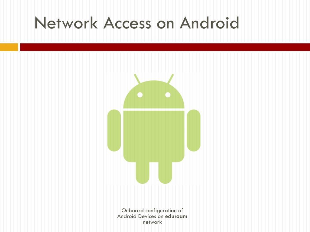 Network Access on Android - ppt download