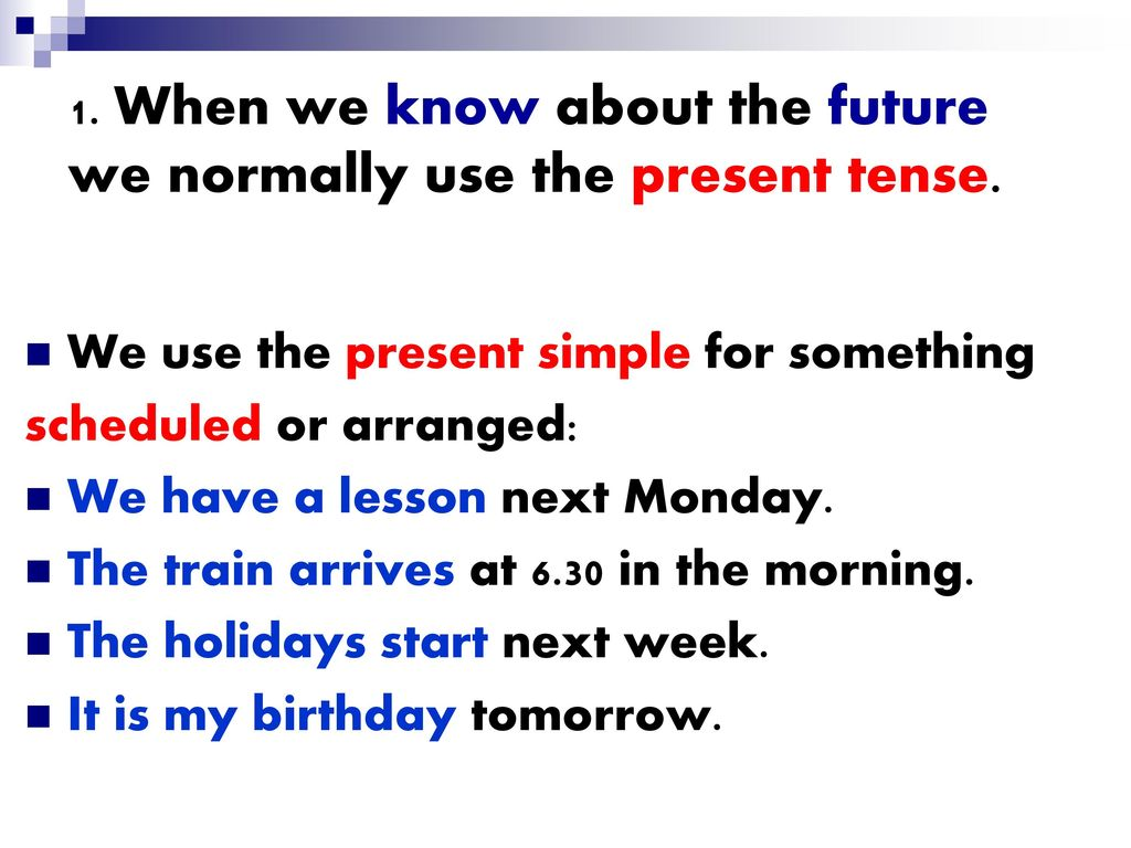 FUTURE English Grammar Rules - ppt download
