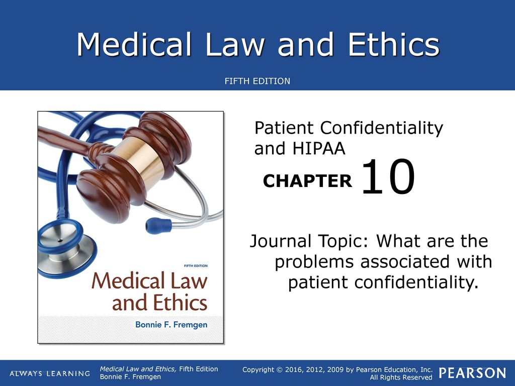 10 Patient Confidentiality and HIPAA - ppt download