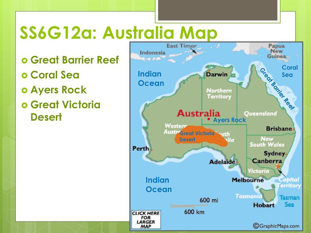 Map Of Australia Great Victoria Desert.Australia Ppt Download