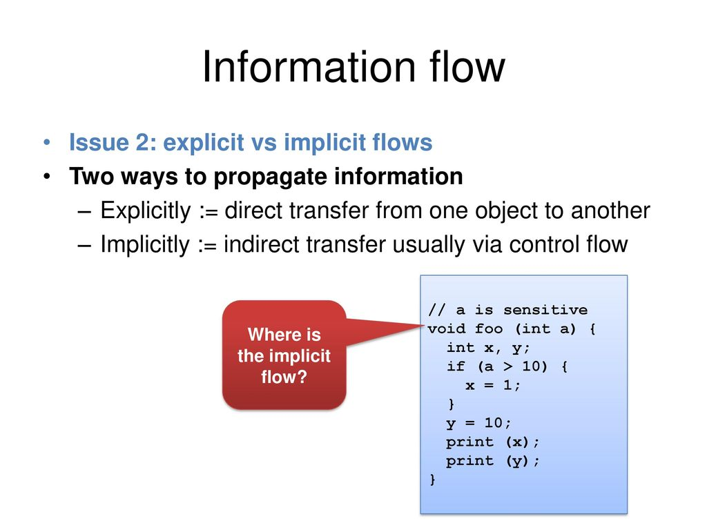 Dynamic information-flow tracking - ppt download