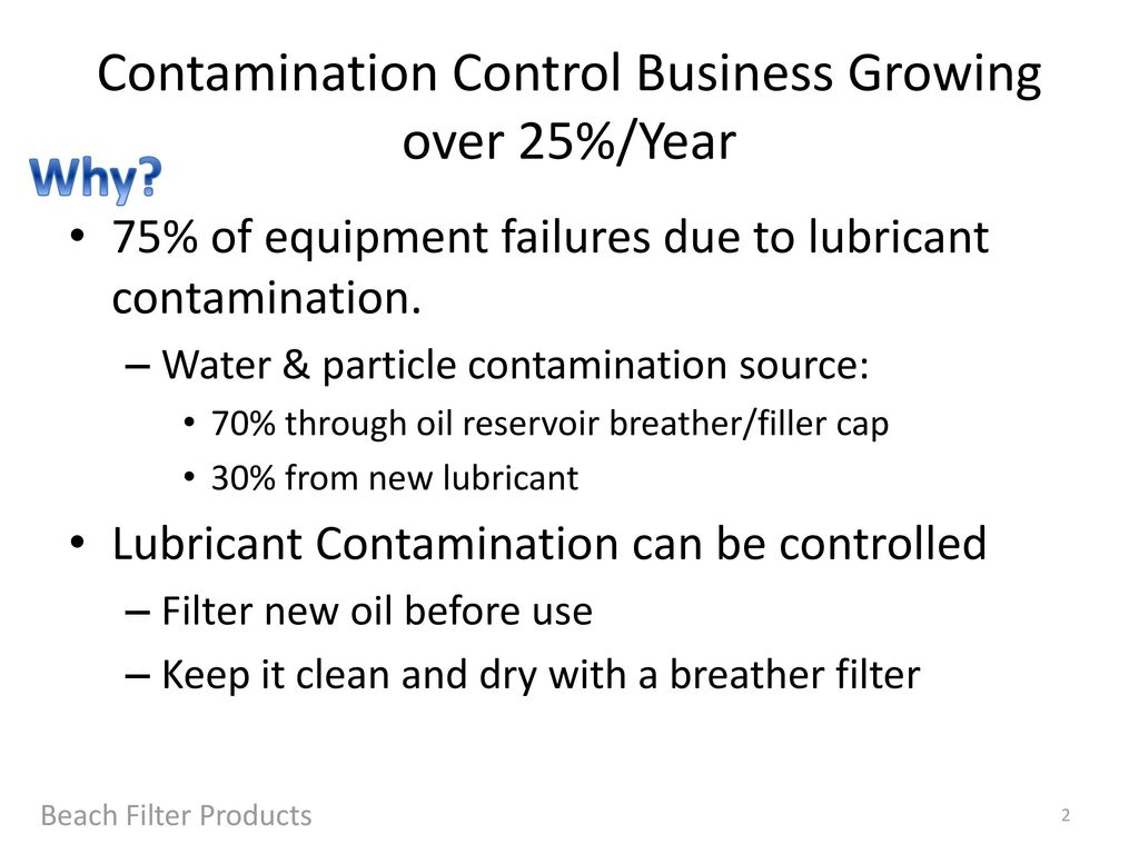 Contamination Control Solutions Breather Filters Oil