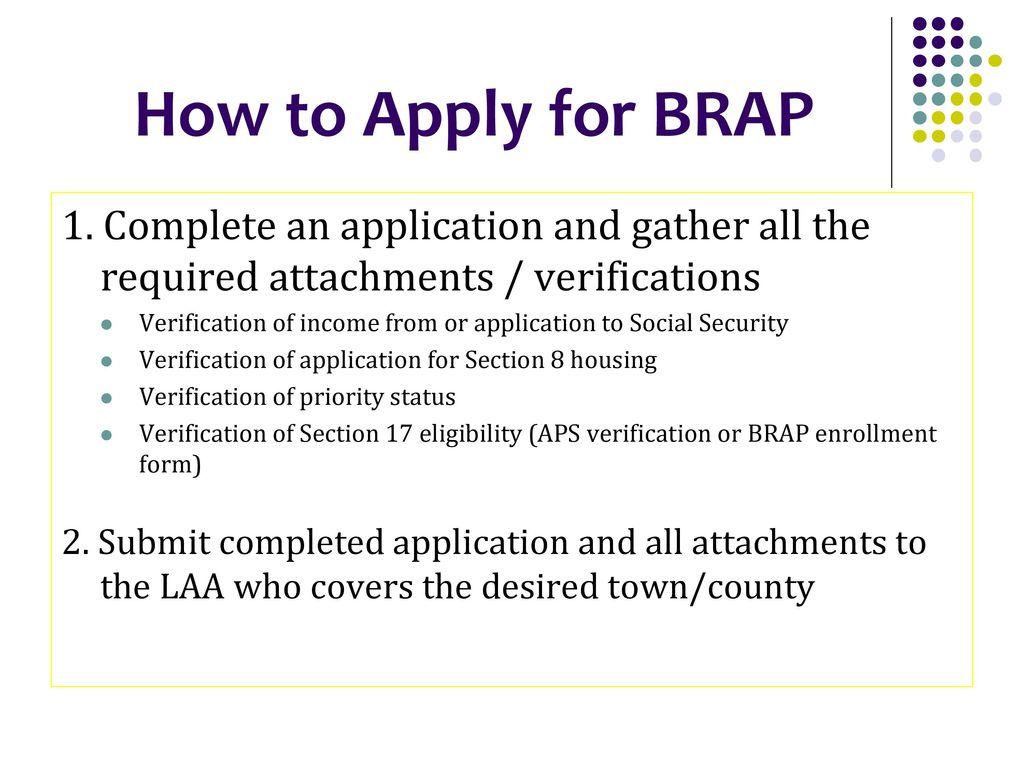 BRAP Bridging Rental Assistance Program - ppt download