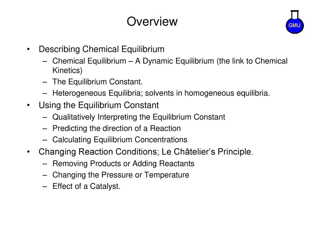 CHEMICAL EQUILIBRIUM  - ppt download