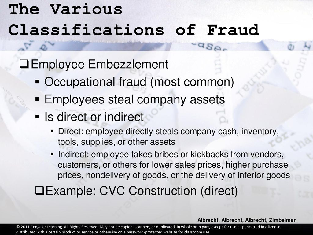 Chapter 1: The Nature of Fraud - ppt download