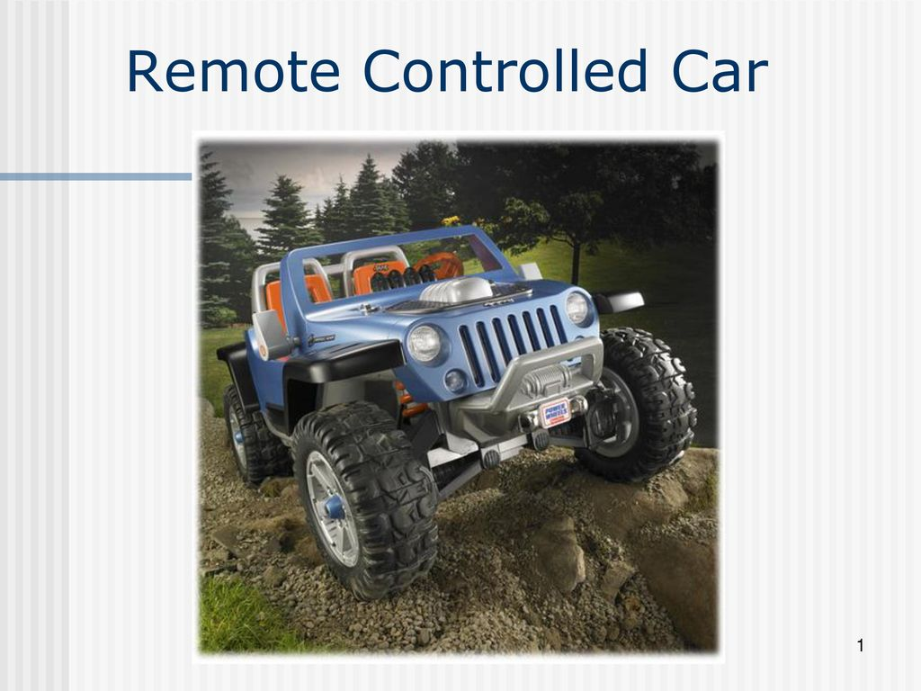Remote Controlled Car Ppt Download Rf Control With 3 Channels By Pic12f509 1