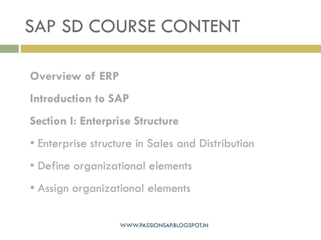 Sap sales & distribution - ppt download