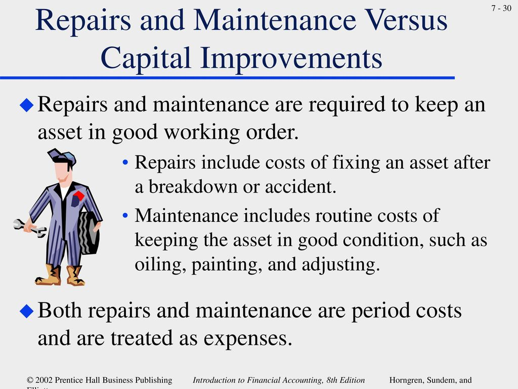 Chapter 7 Long-Lived Assets and Depreciation  - ppt download