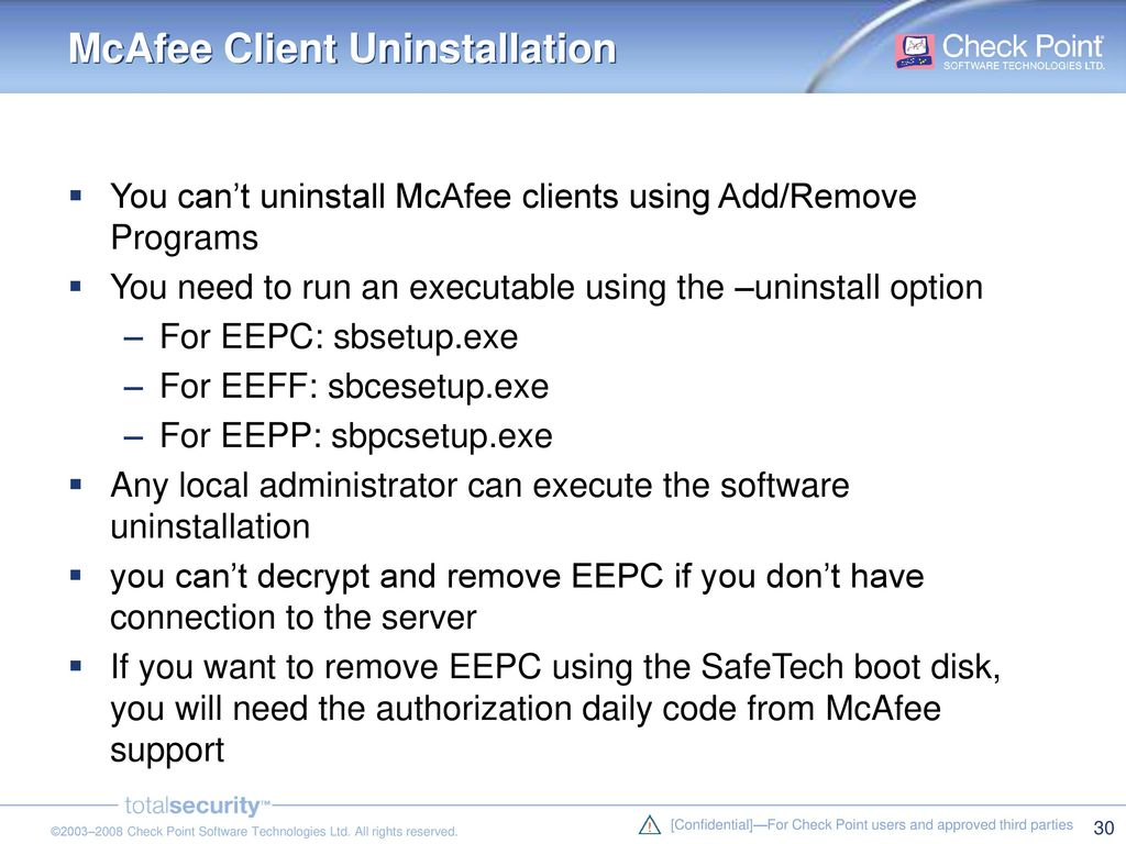 Competitive Analysis: McAfee vs - ppt download