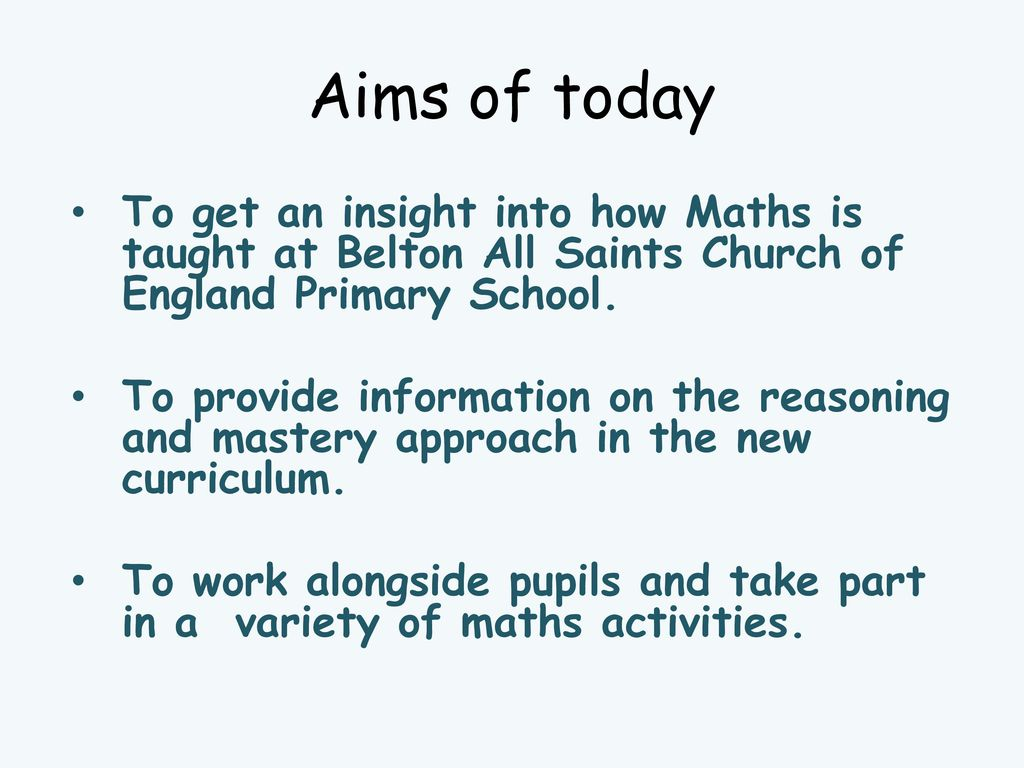 Thinking is at the heart of Mathematics and therefore should be at ...