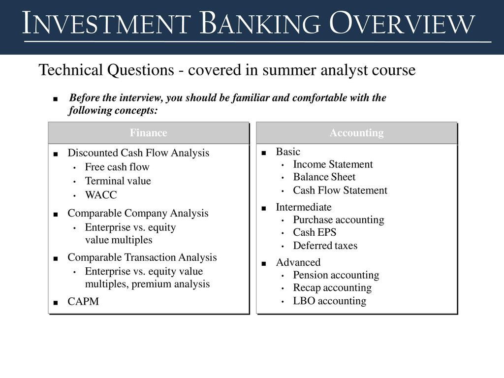 Valuation investment banking interview accounting commercial real estate investment excel template