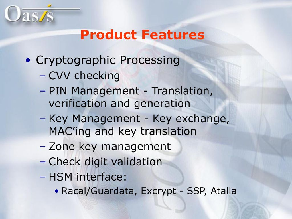 Agenda Company profile Product overview Oasis and TPF  - ppt