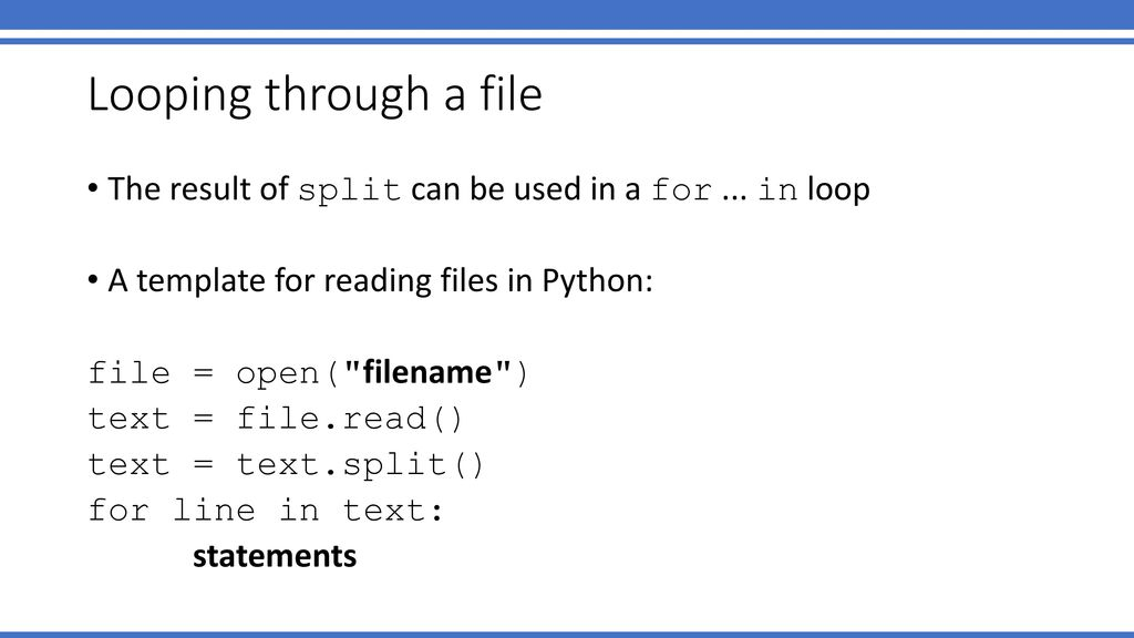 Read Text File Python