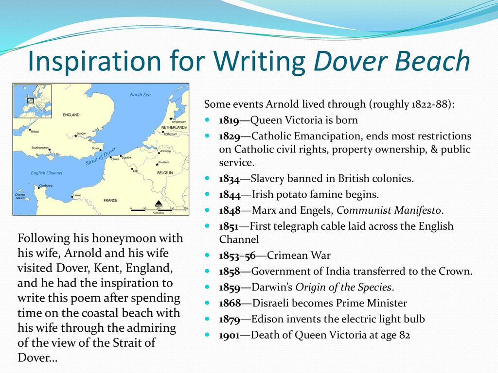 Dover Beach A Poem By Matthew Arnold Ppt Download