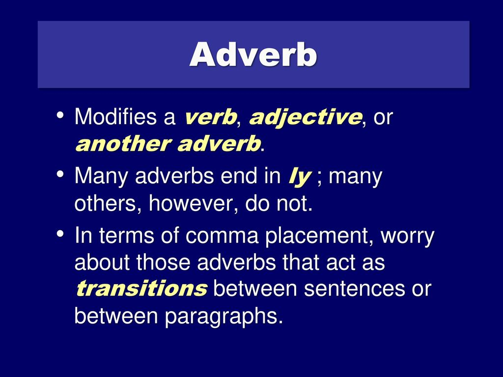 adverb of worry