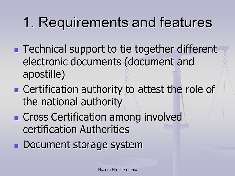 Scenarios For The Electronic Apostille Certificate Ppt Video